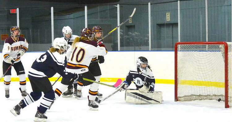 Caught In Third Period Summit H S Girls Ice Hockey Makes Quick